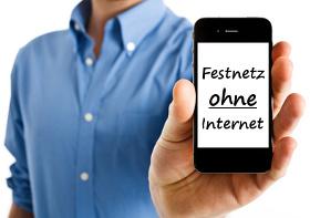 Festnetz-Telefonanschluss ohne Internet